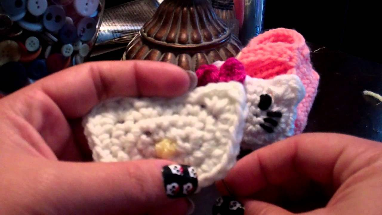 Tutorial- Crochet Hello Kitty Face