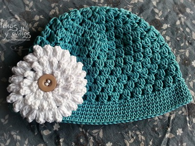 Tutorial Gorro Bebé Fácil Crochet o Ganchillo