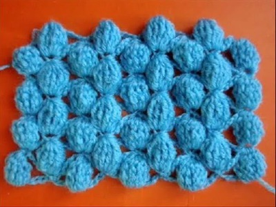 Вязание крючком - Узор 8 Шишечки - Crochet pattern