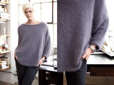 #13 Dolman Pullover, Vogue Knitting Winter 2011.12