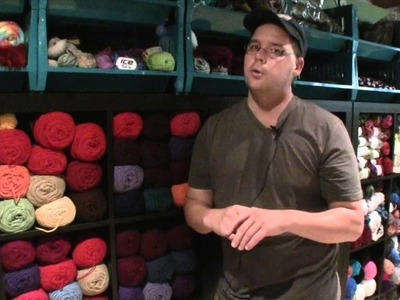 Behind the Scenes with Mikey: Yarn Organization