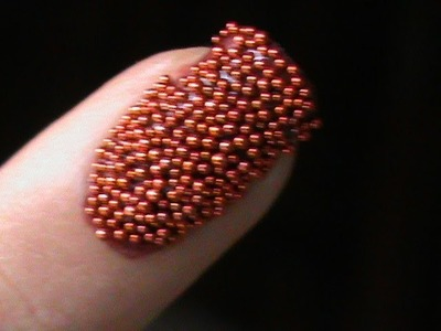 Caviar Nails DIY- how to do Caviar nail art at home with 3d cavair beads - easy caviar beads designs