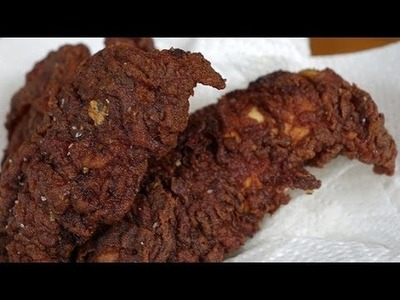 Chocolate Fried Chicken Recipe | Eat the Trend