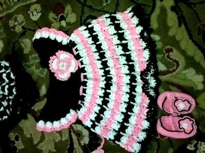 Crochet baby frocks by Asma 4m pakistan