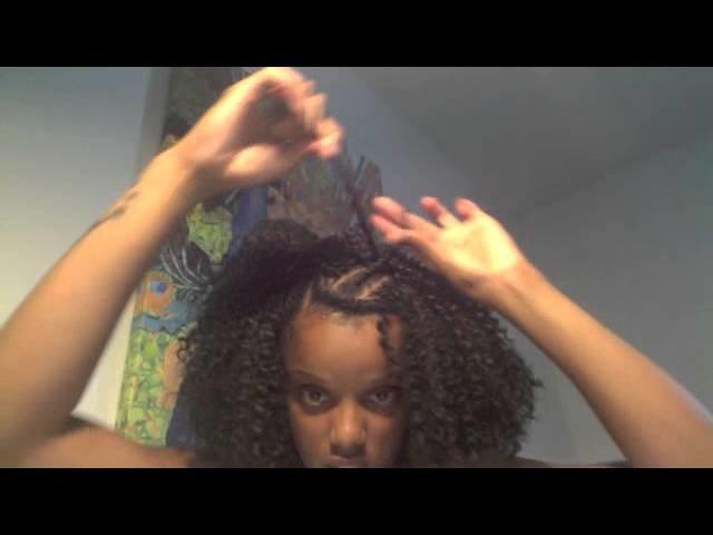 Crochet Braid.Hair Tutorial using FreeTress