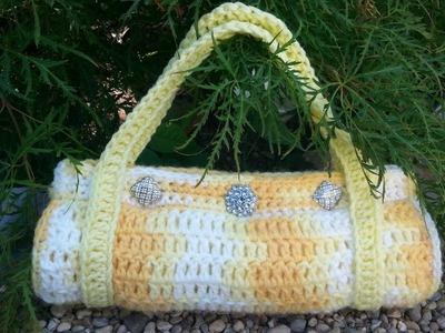 #Crochet Handbag Purse  Easy #TUTORIAL