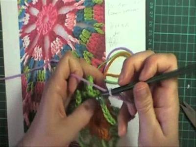Crochet loops round Part 1
