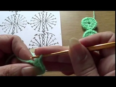 Crochet patterns Japanese circles - DIY - How to
