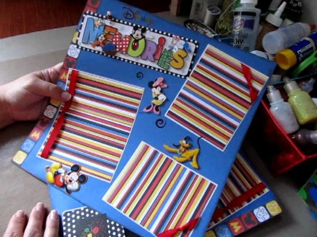 Disney Page Layouts for a 12 x 12 Scrapbook Album