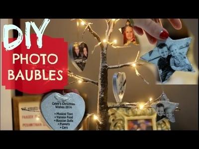 DIY CHRISTMAS PHOTO DECORATIONS | EMILY NORRIS