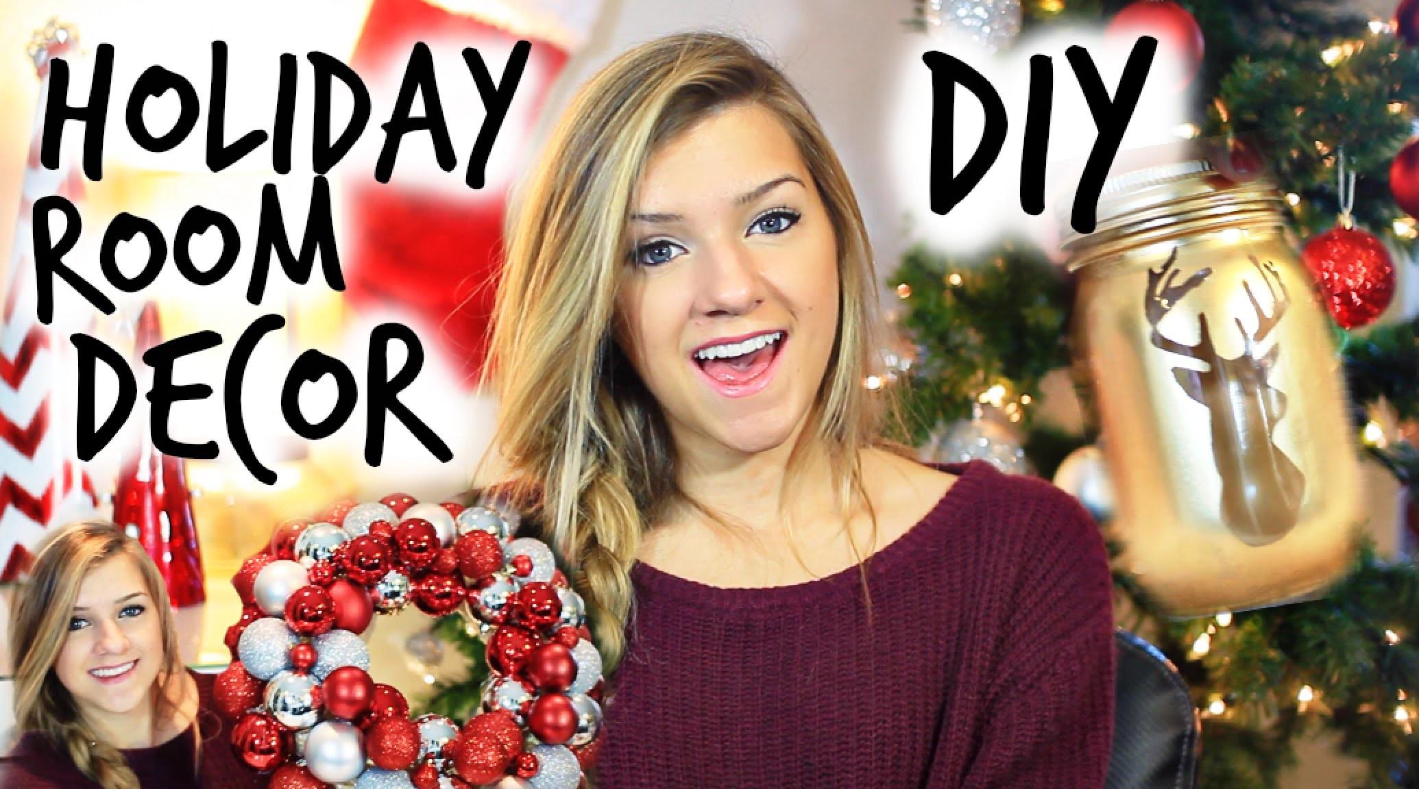 DIY Christmas Room Decorations!