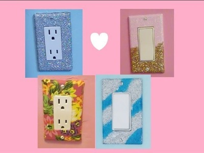 DIY Glam Lightswitch Covers