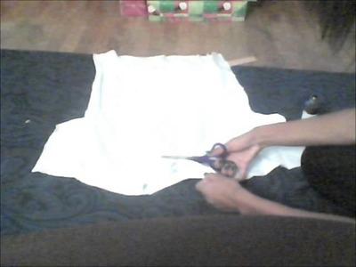 DIY: how to make a handprint shirt