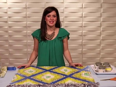 DIY Painted Rug -- The Nest