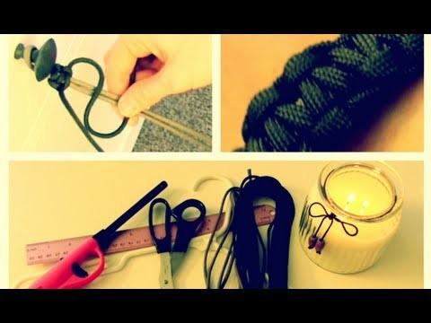 DIY: Paracord Bracelet (Valentine's Day Gift for Him!)   Blair Fowler