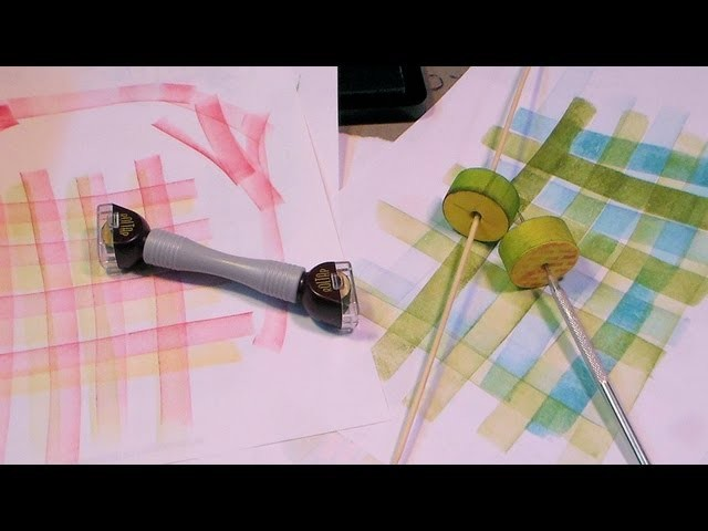 DIY roltap mini brayer