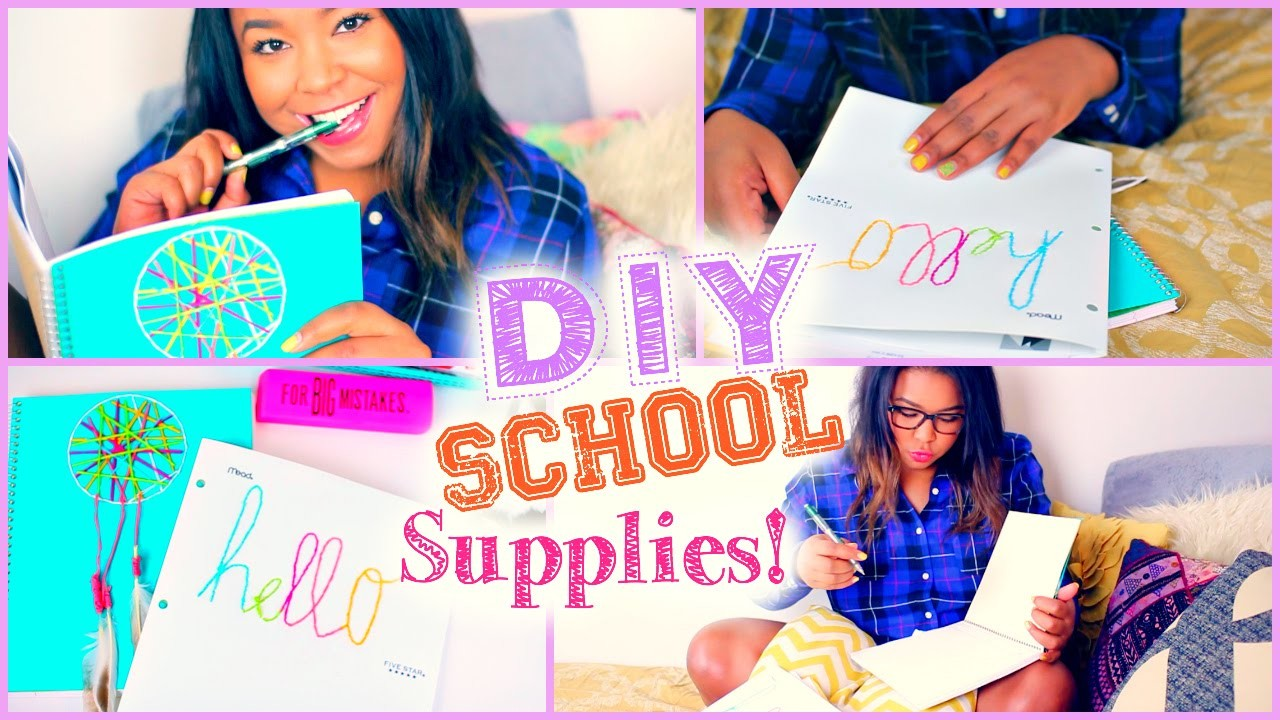 DIY School Supplies Back to School 2014+$100 Amazon gift!