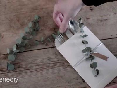 DIY – Table setting, cutlery