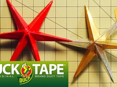 Duck Tape Crafts: How to Make a Holiday Star