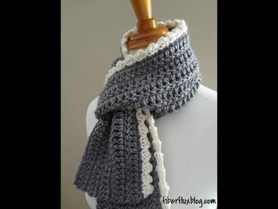 Episode 78: How to Crochet the Ingrid Scarf