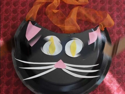 Halloween Paper Crafts   Black Cat Candy Holder