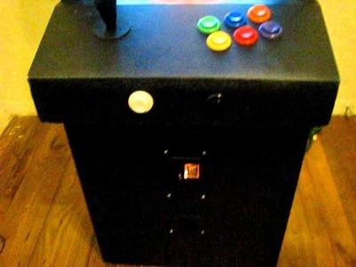 Home-made Mini Arcade Piggybank - Genesis and SNES (1 of 3)
