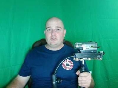 Homemade camera stabilizer Diy Merlin with Sony HC-7 on thegripnutsshow