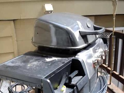 Homemade Smoker Attached to Grill, DIY