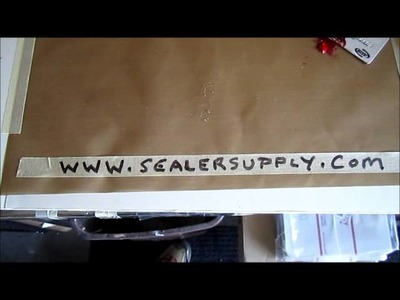 "How to clean a NON Stick PTFE Coated Craft Sheet 15"" x 18"" by Sealer Supply"