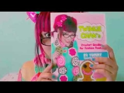 """How to Crochet a Cupcake Scarf"" - Twinkie Chan Book Trailer"