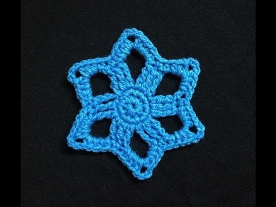 How to Crochet Star Motif Pattern #8 │by ThePatterfamily