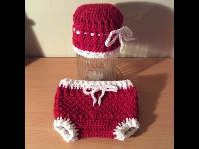 How to Crochet the Fancy Diaper Cover