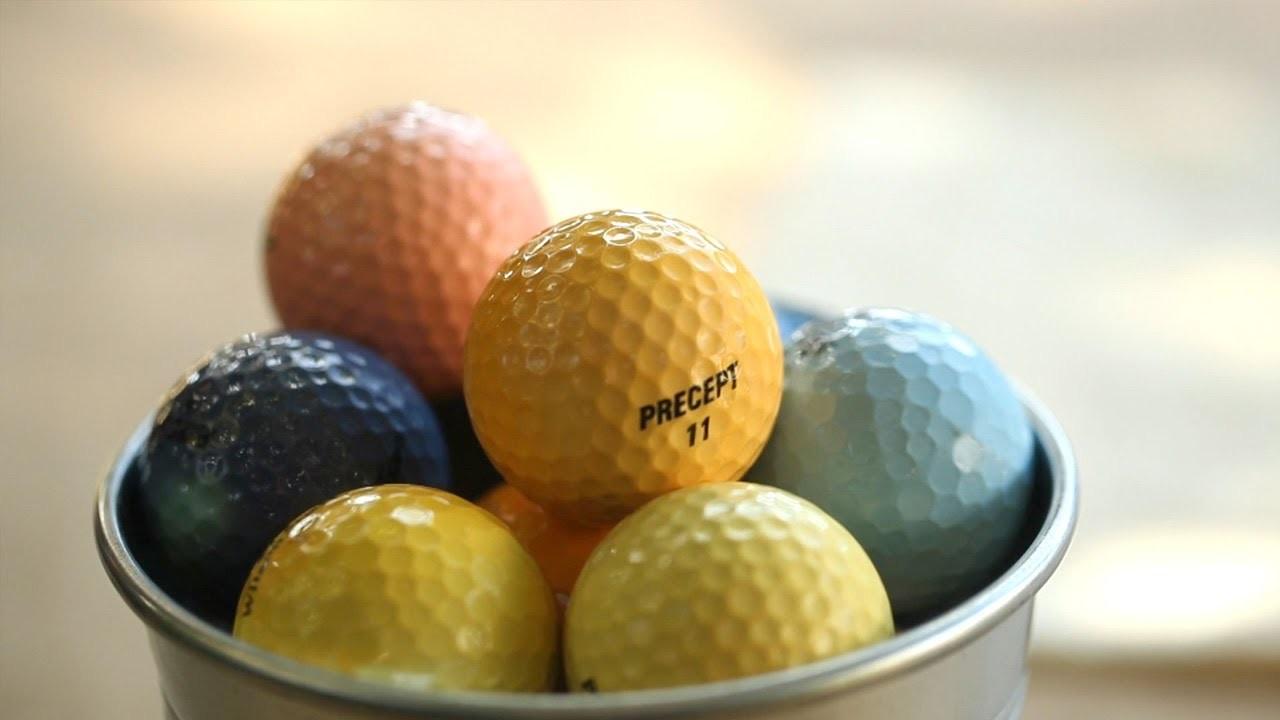 How to Dye Golf Balls Yourself || KIN DIY