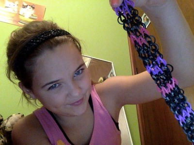 How To Make A Headband | Rainbow Loom