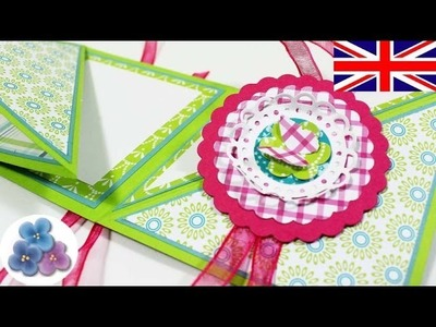 How to make a Reversible Card Tutorial Greeting Cards Birthday Card Papercraft Scrapbooking Mathie