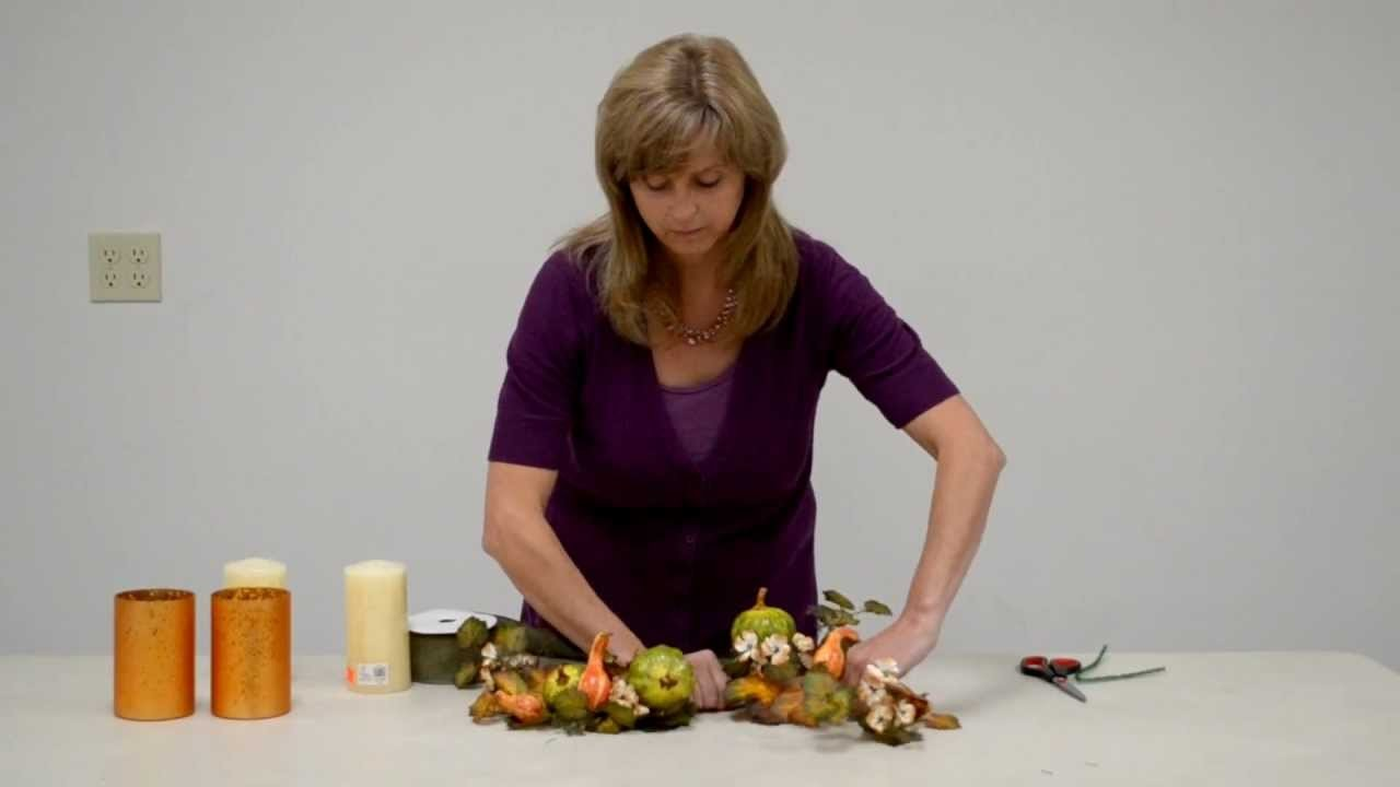 How to: Make a Simple Fall Centerpiece