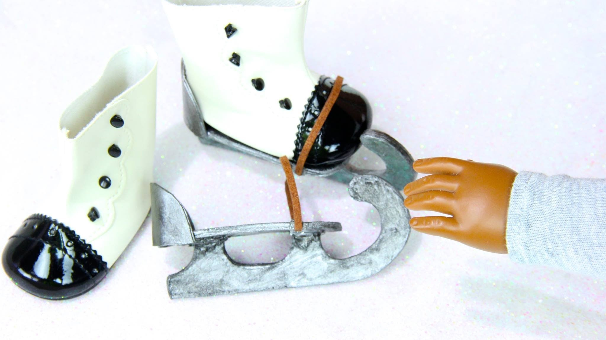 How to Make Doll Ice Skates