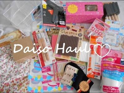 MASSIVE DAISO HAUL #2 (Australia.Melbourne)- crafts & findings