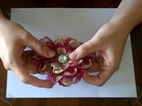 Organza Flower Tutorial Part 1