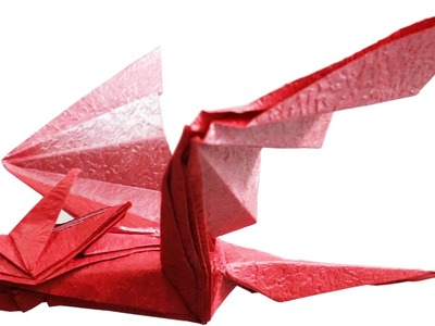 Origami Dragon - How to make a Paper Dragon