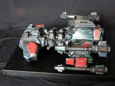 Starcraft 2 : BattleCruiser Papercraft