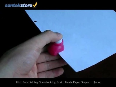 SuntekStore: Mini Card Making Scrapbooking Craft Punch Paper Shaper - Jacket