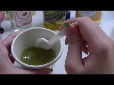 TOTM: DIY Honey Green Tea with Virgin Coconut Oil Mask