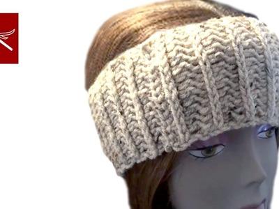 Wide HeadBand Crochet Geek