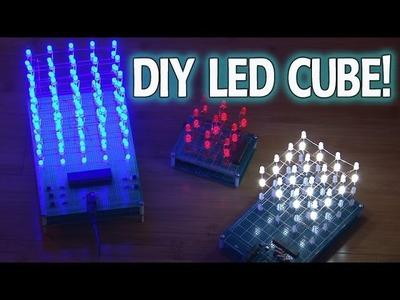 Amazing DIY LED CUBE!