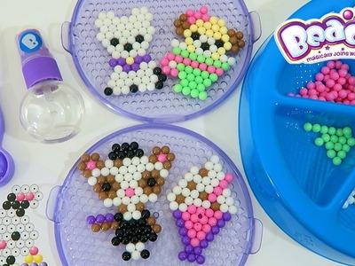 Beados Teapot Cafe Activity Pack Playset | Easy DIY Make Your Own Magic Bead Animals!