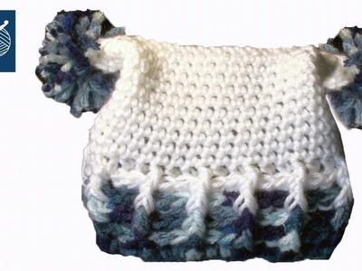 Crochet Baby Hat Left Hand - Crochet Geek