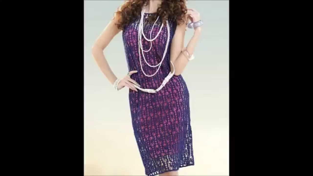 Crochet dress - Ganchillo Vestido - Crochê Vestido