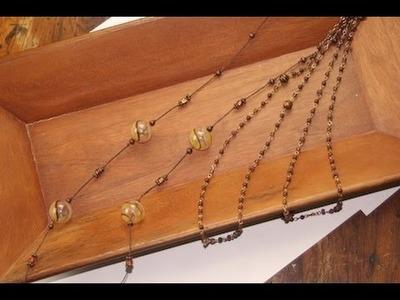 DIY: Beaded Necklace | ShowMeCute