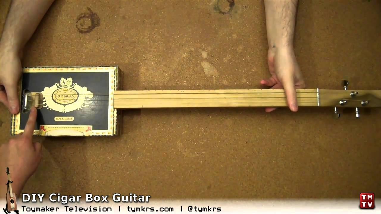 DIY Cigar Box Guitar: Part 1 - Introduction and Box Selection